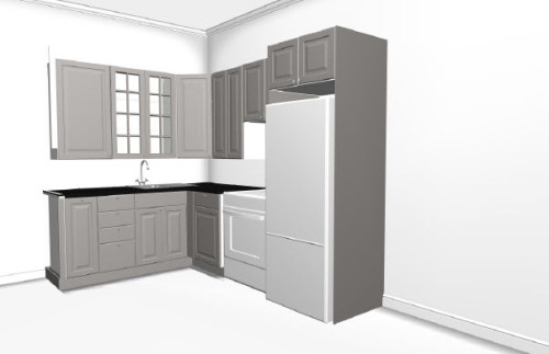 Kitchen View (Ikea Plan)