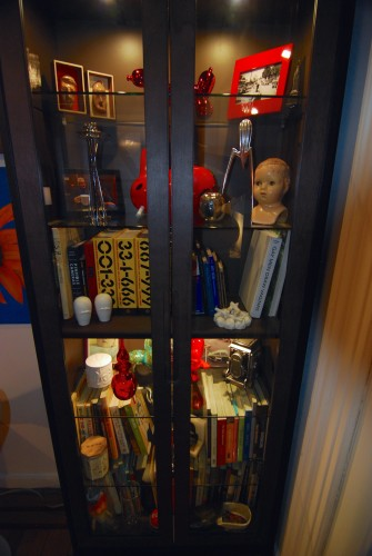 Everybody needs a cabinet of curiosities. I envision this will become more filled with our future obsessions.