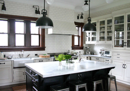 Not all amazing kitchens are from the UK. This very traditional but new kitchen in Chicago is truly beautiful. It embodies all that I am seeking on so many levels. So much to be inspired by... But unfortunately far beyond our budget.