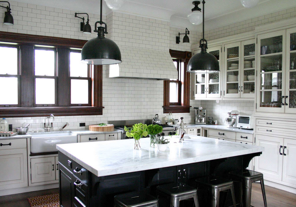 Meanwhile, Back in the Kitchen.... Part III - Countertops; Black or