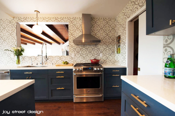 There Is A Lot To Love About This Boston Kitchen Featuring Ikea Cabinet Shells With Painted