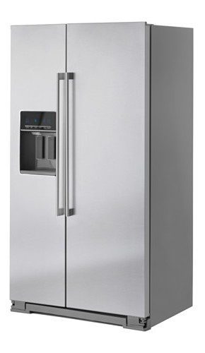 Our IKEA NUTID refrigerator may be discontinued, but we love it none the less, and it still has a long warranty. [Source: Ikea]