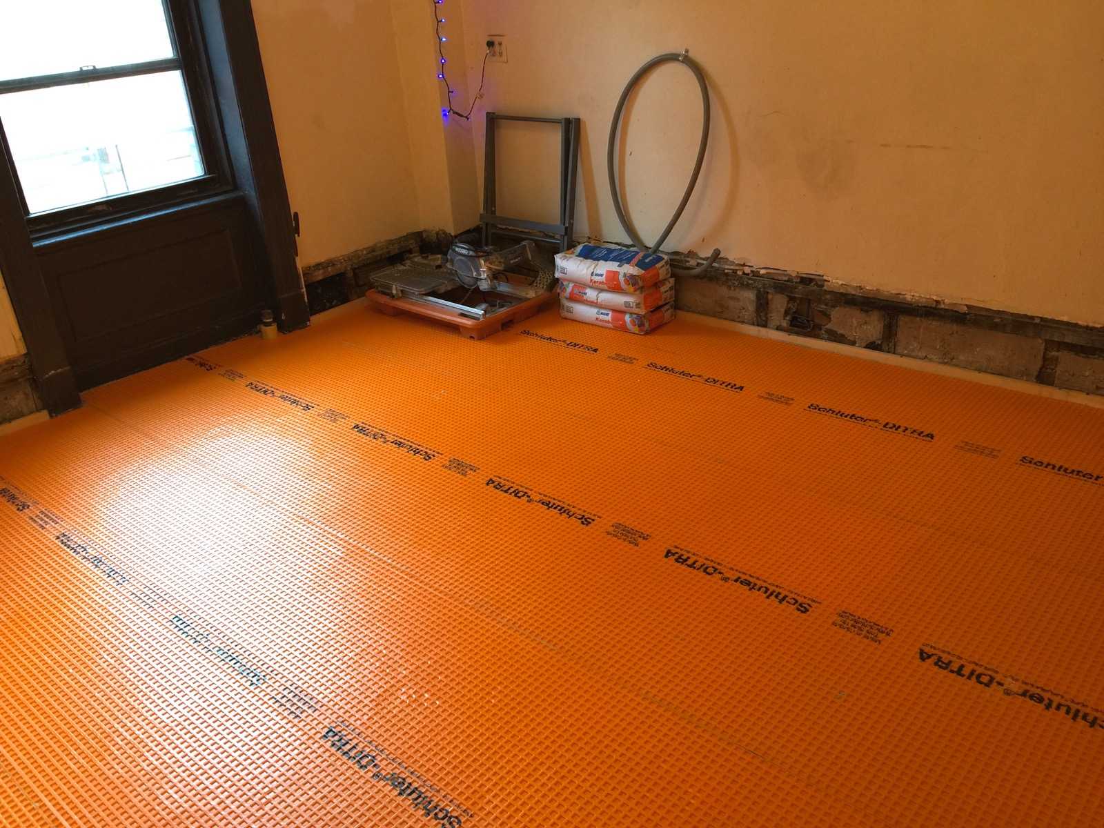 Preparing Floor For Tile Choice Image Home Fixtures