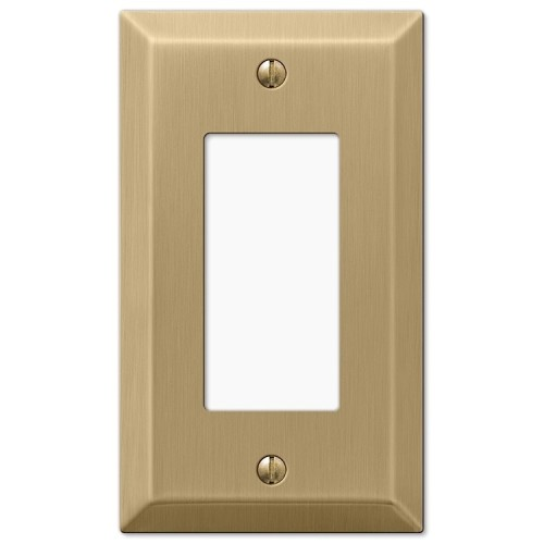 Finally, a wallplate that isn't shiny brass or dark fake antique looking. [Source: wallplatesonline]