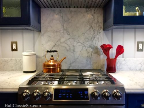 The Simplex makes the perfect addition to our stove top.